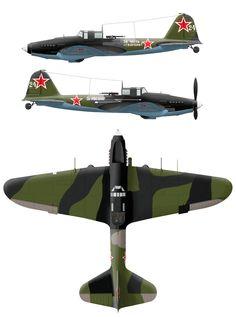 Ил-2М3из состава 8-го гвардейского штурмавого авиаполка ВВС ЧФ. Саки,п-ов Крым,апрель-май 1944 года.