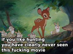 Bambi | 21 Disney Movies Retold In Haiku...i know it swears but it is just so funny!