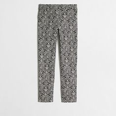 </li><li>Sits just below waist.</li><li>Fitted through hip and thigh, with a skinny, ankle-length inseam.</li><li>Nonfunctional back pockets. Pants For Women, Clothes For Women, Dress Suits, Cotton Spandex, Work Wear, J Crew, Pajama Pants, Dresses For Work, Skinny