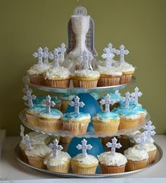 Cupcakes para la celebración de la primera comunión | Ideas para Decoracion