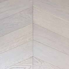 Prime White UV Oiled Oak Chevron Parquet Floor