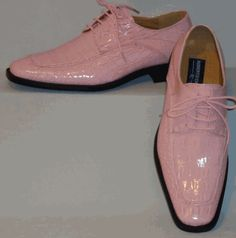 Mens Shiny Baby Pink Exotic Croco Embossed Dress Shoes Roberto Chillini 6548 Men Dress, Dress Shoes, Shoes Men, Exotic, Oxford Shoes, Lace Up, Pink, Baby, Dresses