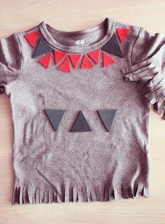 Fabriquer un t-shirt de petit indien