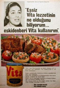 OĞUZ TOPOĞLU : vita nebati margarin 1970 nostaljik eski reklamlar...