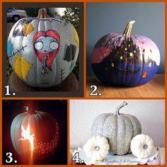 Dollar Store Crafter: 4 Halloween Pumpkin Ideas