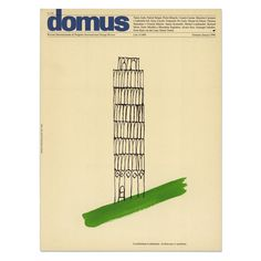 Cover design: January issue No. 778, Architecture is optimism | Alan Fletcher