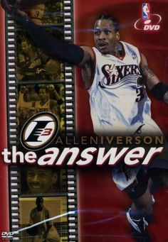 """In NBA circles, the """"Answer"""" is Allen Iverson. The diminutive guard's inspiring journey from a difficult childhood in Virginia to NBA MVP is captured on this Warner Home Video® Allen Iverson: The Answer DVD. The 55-minute video features great bonus content, including Iverson's top 10 plays. http://www.amazon.com/dp/B0000C8ANZ/?tag=icypnt-20"""