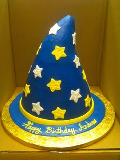 Wizard Hat on Cake Central