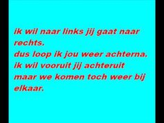 ▶ links en rechts nick en simon met songtekst - YouTube