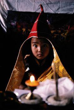 YOUNG LAMA, NEPAL  MATTHIEU RICARD