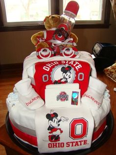 OHIO state theme for a girl