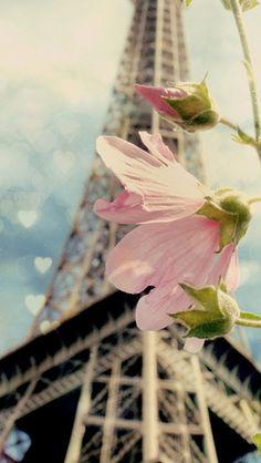 Beauty & love in Paris, flanked by blurred eiffel tower in background Paris Torre Eiffel, Paris Eiffel Tower, Oh Paris, I Love Paris, The Places Youll Go, Places To See, Chelsea Victoria, Belle Villa, Paris Ville