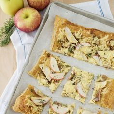 Apple & Gouda Tart