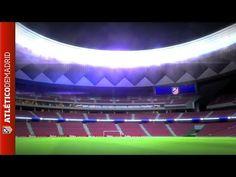 Visita 3D a nuestro nuevo estadio | Video of the new Atlético de Madrid ...
