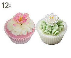 Set de 24 jabones de baño praliné Flower kiss