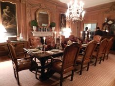 Greystone mansion dining room