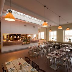 Restaurang Hjerta, Skeppsholmen, Sweden. 3dO arkitekter. Photo: Richard Törsleff