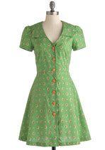 Floral Field Day Dress | Mod Retro Vintage Dresses | ModCloth.com