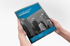 Annual Report Indesign Brochure by Creative Template on Creative Market