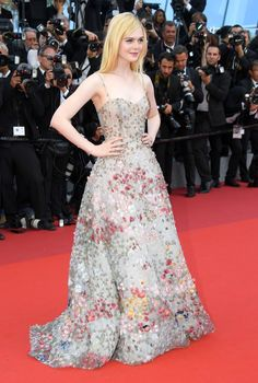Cannes 2017: Every Red-Carpet Look  Elle Fanning in Christian Dior