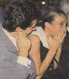 I have always loved this shot. John is pulling his ear like Carol Burnett and Carolyn looks so happy. I just got some old People magazines, tribute issues to John and Carolyn and tabloids (gulp) … Les Kennedy, John Kennedy Jr, Carolyn Bessette Kennedy, Jfk Jr, Caroline Kennedy, Women In America, John Junior, Carol Burnett, John Fitzgerald