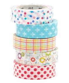 Look at this Five-Piece Summer Party Washi Tape Set on #zulily today!