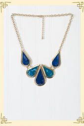 Stoneybrook Necklace- Fills up space in a low cut top