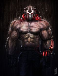 Bane...OMG I love this piece. I don't know who did it but they're blessed LOL!