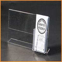 classy clear acrylic card holders, acrylic business card holders