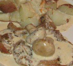 Pork Chops With Mushroom Cream Sauce - Low Carb Recipe - Food.com - 224960