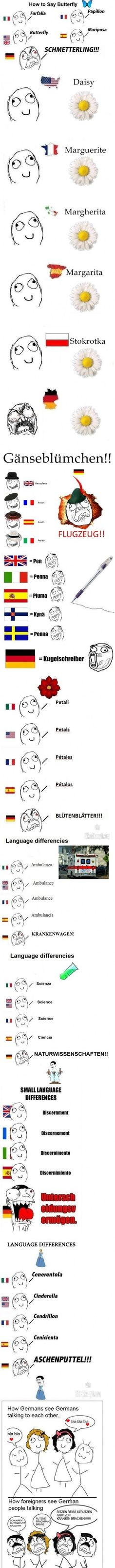 100% accurate ! I took german in high school and that's pretty much what I sounded like.