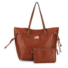 Coach City Knitted Medium Brown Totes DZL All New Designer Handbags, Bags, and Purses here! Hi Fashion, Fashion Lookbook, Gothic Fashion, Bohemian Fashion, Spring Fashion, Fashion Ideas, Love Couture, Michael Kors, Cool Style
