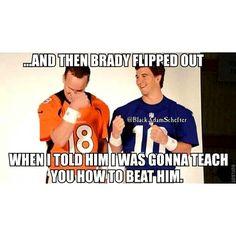 Peyton Manning dons new Denver Broncos jersey for DIRECTV commercial 546277878