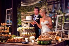 nashville-wedding-dessert-table-idea  nashville-wedding-vintage-dessert-table  Chef's Mkt