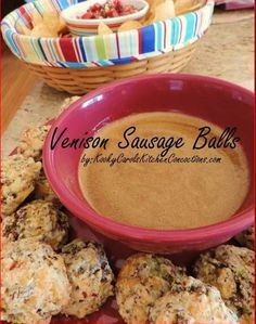 Venison Sausage Balls are so easy to make and delicious, too. These are always a big hit at all the football parties I attend.