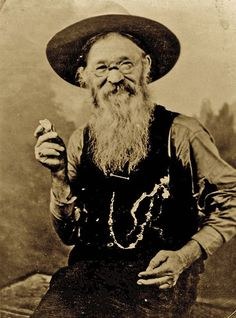 """One of Deadwood's most colorful characters, John Perrett, more often referred to as """"Potato Creek Johnny,"""" is credited with finding one of the world's largest gold nuggets. Though many say the nugget was actually several nuggets melted together, the tale persists, along with stories of Perrett's other eccentricities. Hailing from Wales, Perrett immigrated to the US in 1883 when he was just 17 and before long had made his way to Deadwood, South Dakota to seek his fortune."""