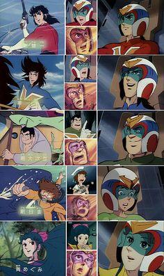 Voltes V Team - brings back the good 'ol days. Japanese Show, Japanese Robot, Old Cartoons, Classic Cartoons, Diamond Comics, Hotarubi No Mori, Japanese Superheroes, Good Anime Series, 5 Anime