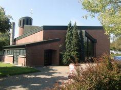 Rheinberg-Annaberg : An der St.-Anna-Kirche, Kath. Kirche St. Anna