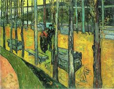 """ Alychamps, Autumn ~ Vincent van Gogh """