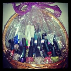 O.P.I. Oh My: Every fan of O.P.I will appreciate this generous collection of OPI nail polishes, 4 body lotions, nail strengthener, rapid dry, cuticle oil, hand cream, hand soap, nail wipes, and polish remover.