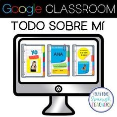 Spanish All About Me Digital Resource (Distance Learning) Spanish Teaching Resources, Spanish Lessons, Learning Spanish, Spanish Activities, All About Me Activities, Spanish Teacher, Blended Learning, Interactive Activities, Digital Technology