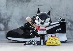 #sneakers #news  Felix The Cat Is Back With BAIT's Latest Diadora Collaboration