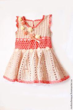 """Одежда для девочек, ручной работы. Ярмарка Мастеров - ручная работа Платье """"Карамелька"""". Handmade."""