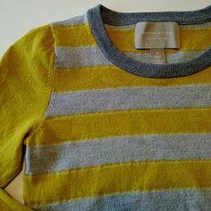 Banana Republic 100% Merino Wool Striped Sweater Gently used 100% merino wool sweater. No flaws. Banana Republic Sweaters Crew & Scoop Necks