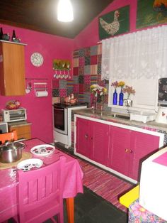 Kitschy Living #pink