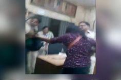 #Shocking #Video of #Police #thrashing the #Couple