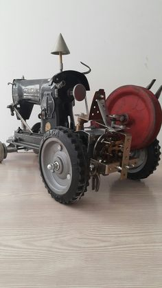 Singer sewing machine tractor Atd design a.tarikdemirbas@hotmail.com
