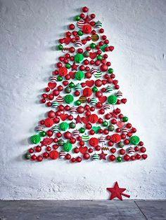 Idea DYI de árbol de Navidad de IKEA
