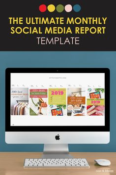 Give your clients a monthly social media report with this easy template and analytics tracker! Social Media Report, Social Media Analytics, Google Analytics Report, Marketing Report, Social Media Measurement, How To Make Resume, Word Design, Report Template, Data Visualization
