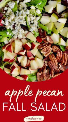 Sea Food Salad Recipes, Appetizer Recipes, Healthy Recipes, Appetizers, Salad Bar, Soup And Salad, Fall Recipes, Great Recipes, Savory Salads